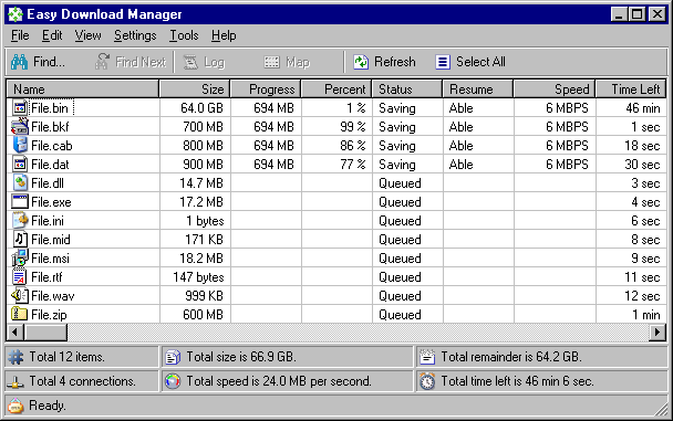 Easy Download Manager 4.9 full